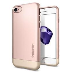 Чехол-накладка для Apple iPhone 7 Spigen Style Armor (042CS20517) (розовое золото)
