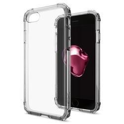 Чехол-накладка для Apple iPhone 7 (Spigen Crystal Shell 042CS20307) (дымно-кристальный)