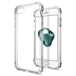 Чехол-накладка для Apple iPhone 7 (Spigen Crystal Shell 042CS20306) (кристально-прозрачный)