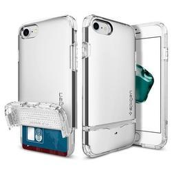 Чехол-накладка для Apple iPhone 7 (Spigen Flip Armor 042CS20820) (серебристый)