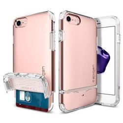 Чехол-накладка для Apple iPhone 7 (Spigen Flip Armor 042CS20819) (розовое золото)