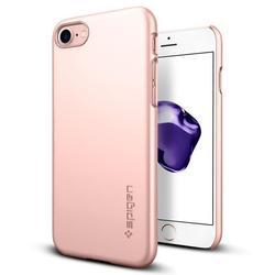 Чехол-накладка для Apple iPhone 7 Plus (Spigen Thin Fit Series 043CS20474) (розовое золото)
