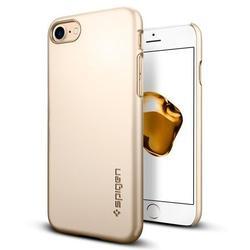 Чехол-накладка для Apple iPhone 7 Plus (Spigen Thin Fit Series 043CS20734) (шампань)