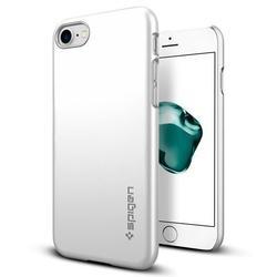 Чехол-накладка для Apple iPhone 7 Plus (Spigen Thin Fit Series 043CS20735) (серебристый)