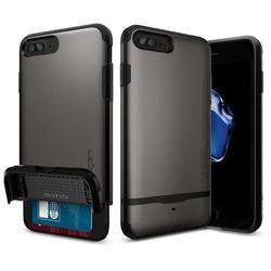 Чехол-накладка для Apple iPhone 7 Plus (Spigen Flip Armor 043CS20776) (стальной)