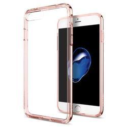Чехол-накладка для Apple iPhone 7 Plus (Spigen Ultra Hybrid 043CS20549) (кристально-розовый)