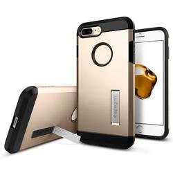 Чехол-накладка для Apple iPhone 7 Plus (Spigen Tough Armor 043CS20530) (шампань)