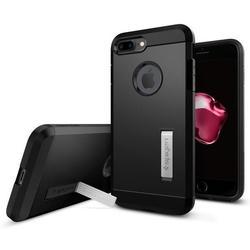 Чехол-накладка для Apple iPhone 7 Plus (Spigen Tough Armor 043CS20531) (черный)