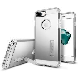 Чехол-накладка для Apple iPhone 7 Plus (Spigen Tough Armor 043CS20681) (серебристый)