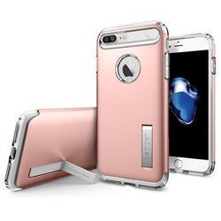 Чехол-накладка для Apple iPhone 7 Plus (Spigen Slim Armor CS 043CS20311) (розовое золото)