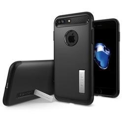 Чехол-накладка для Apple iPhone 7 Plus (Spigen Slim Armor 043CS20648) (черный)