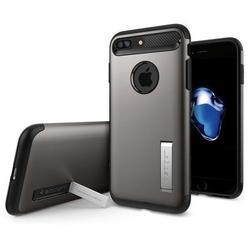 Чехол-накладка для Apple iPhone 7 Plus (Spigen Slim Armor 043CS20309) (стальной)