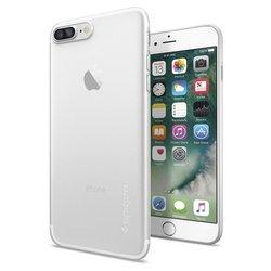 Чехол-накладка для Apple iPhone 7 Plus (Spigen AirSkin 043CS20499) (матово-прозрачный)