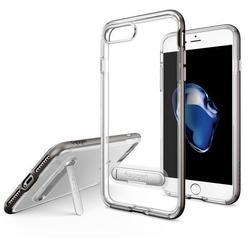 Чехол-накладка для Apple iPhone 7 Plus (Spigen Crystal Hybrid 043CS20508) (стальной)