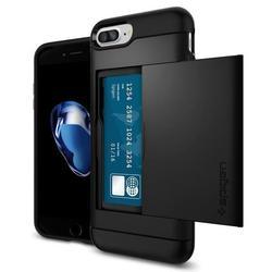Чехол-накладка для Apple iPhone 7 Plus (Spigen Slim Armor CS 043CS20528) (черный)