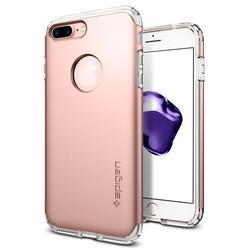 Чехол-накладка для Apple iPhone 7 Plus (Spigen Hybrid Armor 043CS20700) (розовое золото)