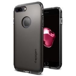 Чехол-накладка для Apple iPhone 7 Plus (Spigen Hybrid Armor 043CS20697) (стальной)