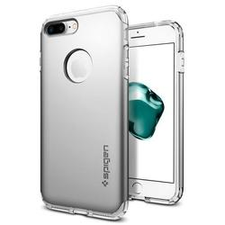 Чехол-накладка для Apple iPhone 7 Plus (Spigen Hybrid Armor 043CS20698) (серебристый)