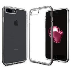Чехол-накладка для Apple iPhone 7 Plus (Spigen Neo Hybrid Crystal 043CS20539) (стальной)