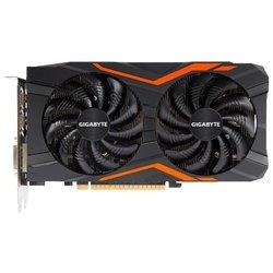 GIGABYTE GeForce GTX 1050 Ti 1366Mhz PCI-E 3.0 4096Mb 7008Mhz 128 bit DVI 3xHDMI HDCP G1 Gaming RTL