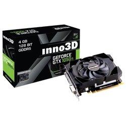 Inno3D GeForce GTX 1050 Ti 1290Mhz PCI-E 3.0 4096Mb 7008Mhz 128 bit DVI HDMI HDCP Compact RTL
