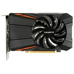 GIGABYTE GeForce GTX 1050 1354Mhz PCI-E 3.0 2048Mb 7008Mhz 128 bit DVI HDMI HDCP RTL