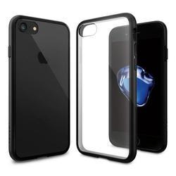 Чехол-накладка для Apple iPhone 7 (Spigen Ultra Hybrid 042CS20446) (черный)