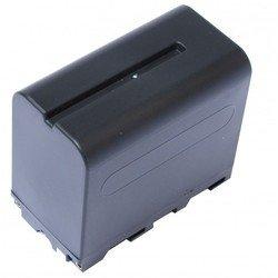 Аккумулятор для Sony NPF950, TRV56E, NEX FS700, DCR-TRV125, DCR-TRV203, DCR-TRV210, CCD-TRV87, CCD-TRV71, CCD-TRV715, CCD-TRV716, CCD-TRV72, CCD-TRV720, CCD-TRV75, CCD-TRV78 (Pitatel SEB-PV1002)
