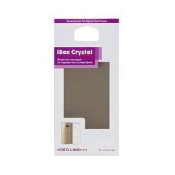 Силиконовый чехол-накладка для Apple iPhone 7 (iBox Crystal YT000009667) (серый)