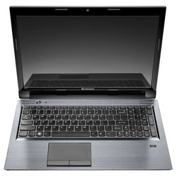 "lenovo ideapad v570 (core i3 2310m 2100 mhz/15.6""/1366x768/3072mb/320gb/dvd-rw/nvidia geforce gt 525m/wi-fi/bluetooth/win 7 hb)"