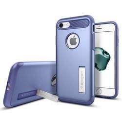 Чехол-накладка для Apple iPhone 7 (Spigen Slim Armor 042CS20304) (фиолетовый)