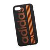 Силиконовый чехол-накладка для Apple iPhone 7 (0L-00029762) (черно-оранжевый) - Чехол для телефонаЧехлы для мобильных телефонов<br>Силиконовый чехол-накладка для Apple iPhone 7 поможет защитить Ваш мобильный телефон от царапин, потертостей и других нежелательных повреждений.<br>
