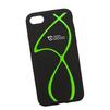 Силиконовый чехол-накладка для Apple iPhone 7 (0L-00029756) (зеленые полосы) - Чехол для телефонаЧехлы для мобильных телефонов<br>Силиконовый чехол-накладка для Apple iPhone 7 поможет защитить Ваш мобильный телефон от царапин, потертостей и других нежелательных повреждений.<br>