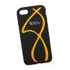 Силиконовый чехол-накладка для Apple iPhone 7 (0L-00029746) (оранжево-желтые полосы) - Чехол для телефонаЧехлы для мобильных телефонов<br>Силиконовый чехол-накладка для Apple iPhone 7 поможет защитить Ваш мобильный телефон от царапин, потертостей и других нежелательных повреждений.<br>