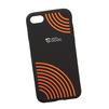 Силиконовый чехол-накладка для Apple iPhone 7 (0L-00029738) (оранжевые круги) - Чехол для телефонаЧехлы для мобильных телефонов<br>Силиконовый чехол-накладка для Apple iPhone 7 поможет защитить Ваш мобильный телефон от царапин, потертостей и других нежелательных повреждений.<br>