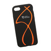 Силиконовый чехол-накладка для Apple iPhone 7 (0L-00029755) (оранжевые полосы) - Чехол для телефонаЧехлы для мобильных телефонов<br>Силиконовый чехол-накладка для Apple iPhone 7 поможет защитить Ваш мобильный телефон от царапин, потертостей и других нежелательных повреждений.<br>