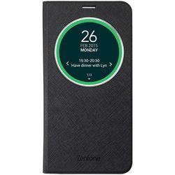 Чехол-флип для Asus Zenfone 3 ZC551KL (Asus View Flip Cover 90AC01M0-BCV004) (черный)
