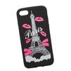 Силиконовый чехол-накладка для Apple iPhone 7 (0L-00029740) (Париж розовые губки) - Чехол для телефонаЧехлы для мобильных телефонов<br>Силиконовый чехол-накладка для Apple iPhone 7 поможет защитить Ваш мобильный телефон от царапин, потертостей и других нежелательных повреждений.<br>