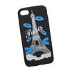 Силиконовый чехол-накладка для Apple iPhone 7 (0L-00029742) (Париж синие губки) - Чехол для телефонаЧехлы для мобильных телефонов<br>Силиконовый чехол-накладка для Apple iPhone 7 поможет защитить Ваш мобильный телефон от царапин, потертостей и других нежелательных повреждений.<br>