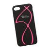 Силиконовый чехол-накладка для Apple iPhone 7 (0L-00029747) (розовые полосы) - Чехол для телефонаЧехлы для мобильных телефонов<br>Силиконовый чехол-накладка для Apple iPhone 7 поможет защитить Ваш мобильный телефон от царапин, потертостей и других нежелательных повреждений.<br>