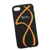 Силиконовый чехол-накладка для Apple iPhone 7 (0L-00029748) (розово-желтые полосы) - Чехол для телефонаЧехлы для мобильных телефонов<br>Силиконовый чехол-накладка для Apple iPhone 7 поможет защитить Ваш мобильный телефон от царапин, потертостей и других нежелательных повреждений.<br>
