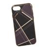 Силиконовый чехол-накладка для Apple iPhone 7 (0L-00029578) (клетка коричневая) - Чехол для телефонаЧехлы для мобильных телефонов<br>Силиконовый чехол-накладка для Apple iPhone 7 поможет защитить Ваш мобильный телефон от царапин, потертостей и других нежелательных повреждений.<br>