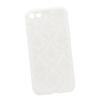 Силиконовый чехол-накладка для Apple iPhone 7 (0L-00029606) (цветочный узор, белый) - Чехол для телефонаЧехлы для мобильных телефонов<br>Силиконовый чехол-накладка для Apple iPhone 7 поможет защитить Ваш мобильный телефон от царапин, потертостей и других нежелательных повреждений.<br>
