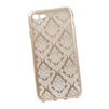 Силиконовый чехол-накладка для Apple iPhone 7 (0L-00029603) (цветочный узор, золотистый) - Чехол для телефонаЧехлы для мобильных телефонов<br>Силиконовый чехол-накладка для Apple iPhone 7 поможет защитить Ваш мобильный телефон от царапин, потертостей и других нежелательных повреждений.<br>