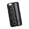 Силиконовый чехол-накладка для Apple iPhone 6, 6S (0L-00029735) (Adidas, бело-черный) - Чехол для телефонаЧехлы для мобильных телефонов<br>Силиконовый чехол-накладка для Apple iPhone 6, 6S поможет защитить Ваш мобильный телефон от царапин, потертостей и других нежелательных повреждений.<br>