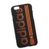 Силиконовый чехол-накладка для Apple iPhone 6, 6S (0L-00029733) (Adidas, оранжево-черный) - Чехол для телефонаЧехлы для мобильных телефонов<br>Силиконовый чехол-накладка для Apple iPhone 6, 6S поможет защитить Ваш мобильный телефон от царапин, потертостей и других нежелательных повреждений.<br>
