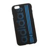 Силиконовый чехол-накладка для Apple iPhone 6, 6S (0L-00029734) (Adidas, сине-черный) - Чехол для телефонаЧехлы для мобильных телефонов<br>Силиконовый чехол-накладка для Apple iPhone 6, 6S поможет защитить Ваш мобильный телефон от царапин, потертостей и других нежелательных повреждений.<br>