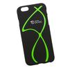 Силиконовый чехол-накладка для Apple iPhone 6, 6S (0L-00029727) (зеленые полосы) - Чехол для телефонаЧехлы для мобильных телефонов<br>Силиконовый чехол-накладка для Apple iPhone 6, 6S поможет защитить Ваш мобильный телефон от царапин, потертостей и других нежелательных повреждений.<br>