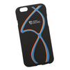 Силиконовый чехол-накладка для Apple iPhone 6, 6S (0L-00029707) (сине-оранжевые полосы) - Чехол для телефонаЧехлы для мобильных телефонов<br>Силиконовый чехол-накладка для Apple iPhone 6, 6S поможет защитить Ваш мобильный телефон от царапин, потертостей и других нежелательных повреждений.<br>