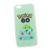 Силиконовый чехол-накладка для Apple iPhone 6, 6S (0L-00029481) (Pokemon Go Бульбазавр) - Чехол для телефонаЧехлы для мобильных телефонов<br>Силиконовый чехол-накладка для Apple iPhone 6, 6S поможет защитить Ваш мобильный телефон от царапин, потертостей и других нежелательных повреждений.<br>